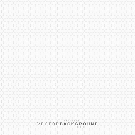 repeatable texture: White geometric texture, vector net repeatable pattern.