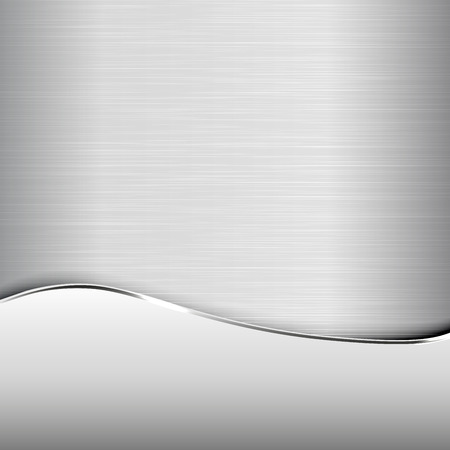 grey: Metallic background - polished texture. Elegant abstract background.
