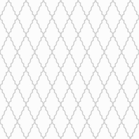 antique background: Vector ornamental pattern - seamless. White and gray texture.
