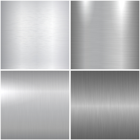 Metallic textures. Bright polished metal textures for your design.