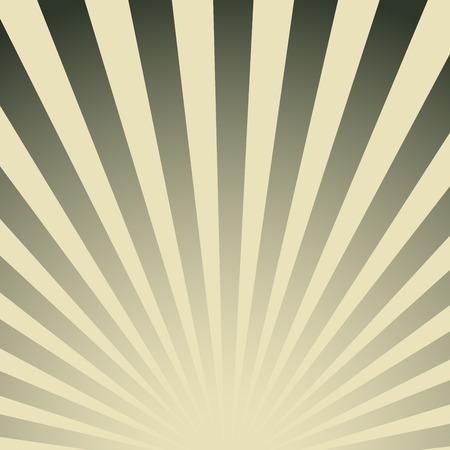 Vintage striped poster. Retro radiant abstract color background.