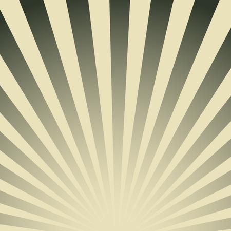 radiant: Vintage striped poster. Retro radiant abstract color background. Illustration