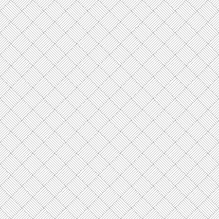 vectro: White wicker geometric texture - seamless vectro background.