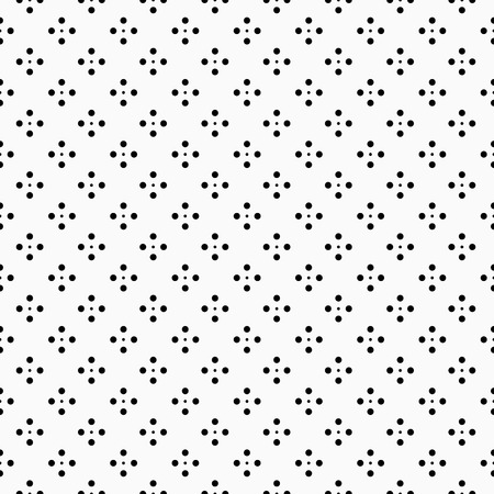 ドット - シームレスなベクトルの背景パターン。