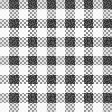 vector fabric: Vector fabric texture - seamless. Black and white texture.