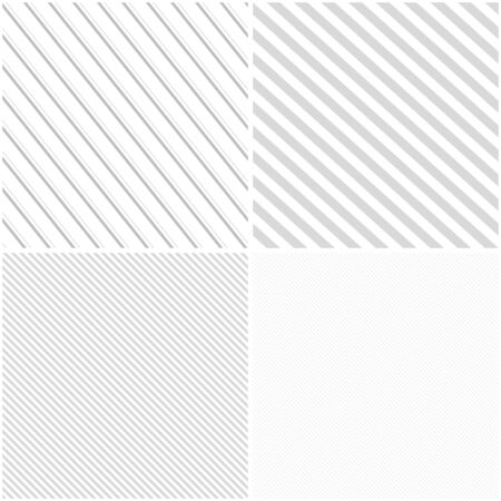 gray pattern: Vector striped patterns, seamless. White and grey texture