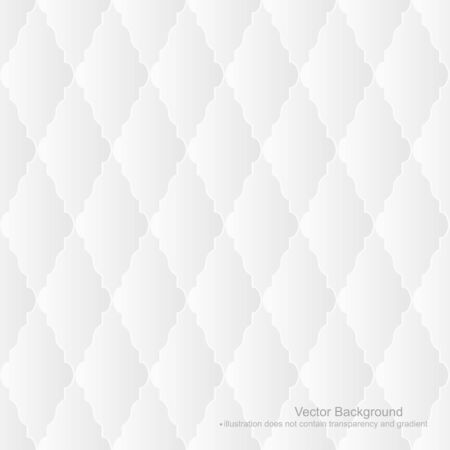White upholstery background - seamless. Vector illustration does not contain gradient and transparency