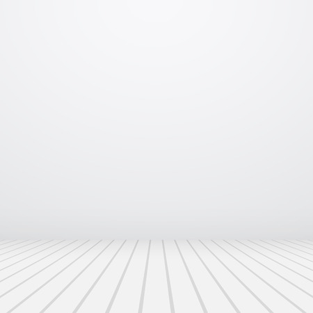 White vector copyspace. Gray wall and floor.