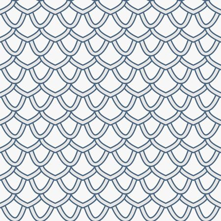 seamless tile: Tile geometric pattern - seamless background. Curtain texture. Illustration