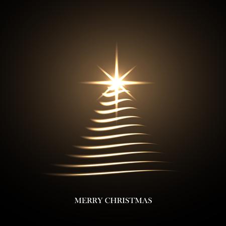 cretive: Cretive Christmas background. Vector bright Christmas Tree.