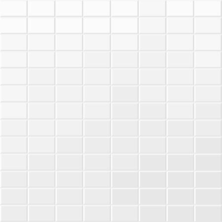 Brick wall texture. White seamless vector background.