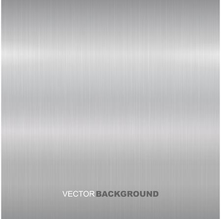 金属は、ベクトル テクスチャをブラシ。金属表面が明るい。  イラスト・ベクター素材