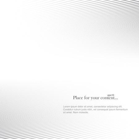 Abstracte vector achtergrond. Wit gestreept exemplaar ruimte.
