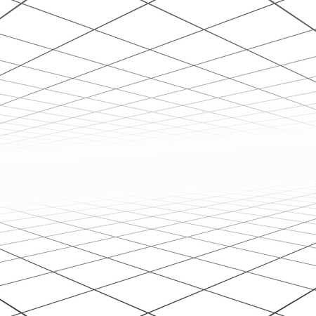 copyspace: Abstract background with perspective. White copyspace concept.