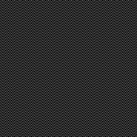 Black seamless pattern with zigzags. Vector illustration. Illustration