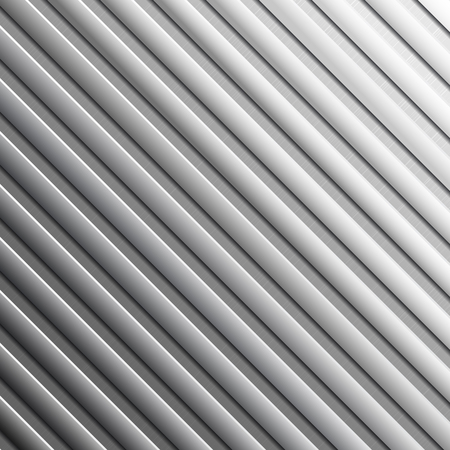 vectro: Striped metal background - abstract metallic texture. Vectro illustration.