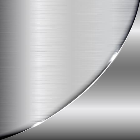 Elegante metalen achtergrond. Vector metallic achtergrond voor uw ontwerp en ideeën. Vector Illustratie