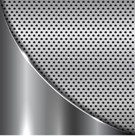 ironworks: Elegant metallic background. Vector metallic background for your design and ideas.