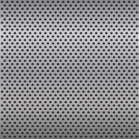 durable: Grill metal texture - a seamless vector background.