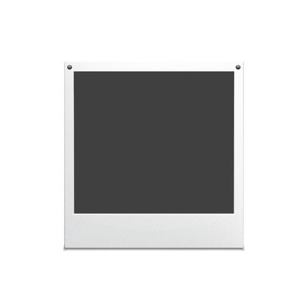 vectro: Retro photo frame. Palaroind vectro frame for your ideas.