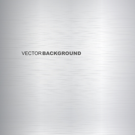 silvery: Silvery vector background a polished metal texture. Illustration