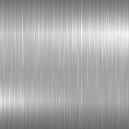 ironworks: Bright metal background. Metallic brushed surface for your design.