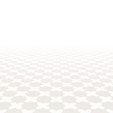 tile floor: Abstract background with perspective. Vector tile floor.