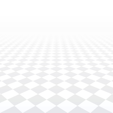 tiled floor: Abstract background - perspective tiled floor. Vector illustration. Illustration
