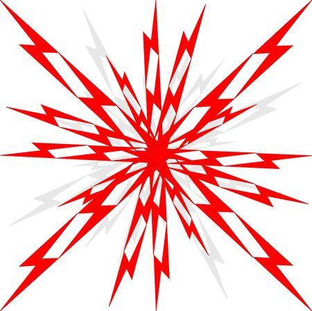 Vector boom illustration. Comics background for your design.