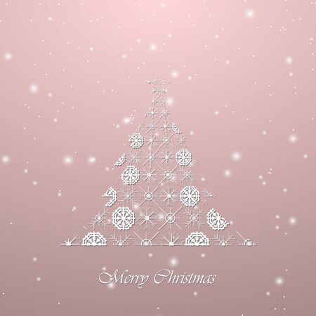 holiday background: Holiday Christmas tree background