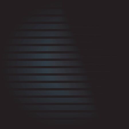 Dark striped background for your design. Metallic vector texture. Çizim