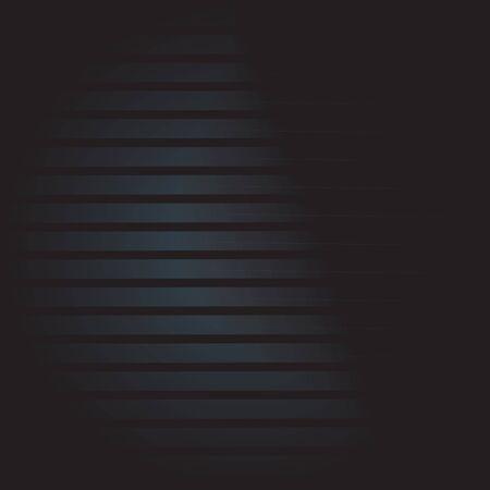 Dark striped background for your design. Metallic vector texture. Illustration