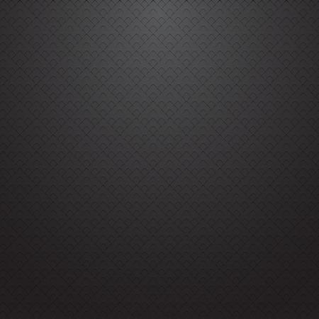 texture de la grille sombre. Abstract vector background - semblable au carbone. Vecteurs