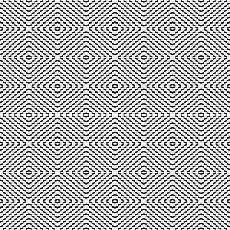 hypnose: Geometric seamless pattern.  Vector background for your design.