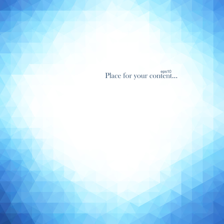 Abstract bright blue background. Vector illustration eps10. Illustration