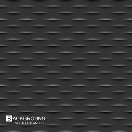 wall decor: Dark carbon texture - a seamless vector background.