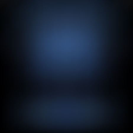 Dark-blue gradient background. Studio background for your design and ideas.
