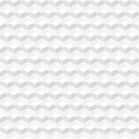 白の幾何学的なテクスチャー - シームレスなベクトルの背景