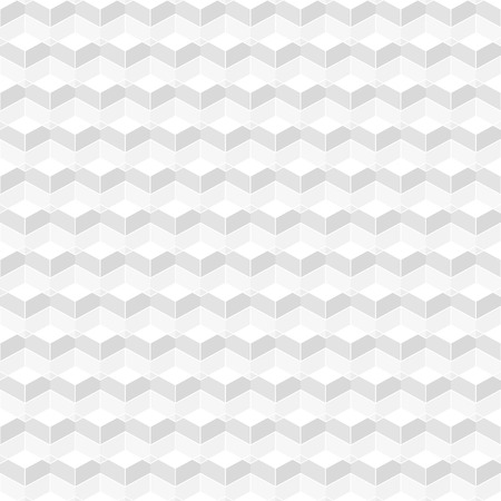 White geometric texture - a seamless vector background Illustration