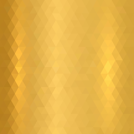 Gold metallic texture. Vector illustration does not contain gradient and transparency.