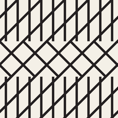 diagonal stripes: Zigzag lines geometric seamless pattern.