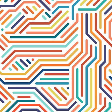 스트라이프 다채로운 원활한 형상 패턴입니다. 일러스트