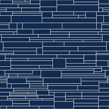 Vector decorative background - seamless gepmetric pattern. Ilustrace