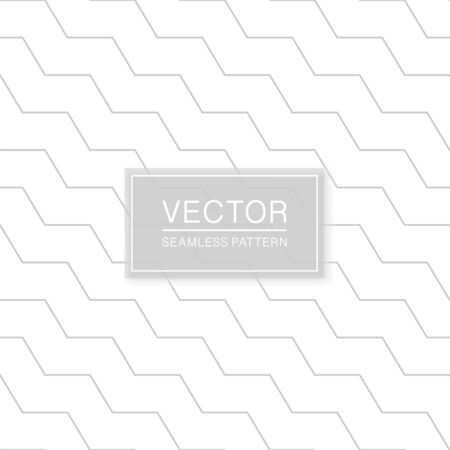 Simple seamless geometric pattern - minimalistic design. Abstract trendy background. Ilustrace