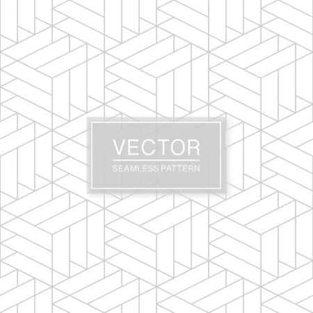 Vector seamless geometric pattern - creative triangle white and grey texture. Decorative monochrome background