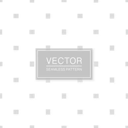 Stylish seamless geometric pattern - simple minimalistic design. White and grey decorative texture. Abstract delicate background
