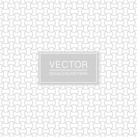 Wavy seamless ornamental pattern - delicate grid design. Geometric oriental background. 向量圖像