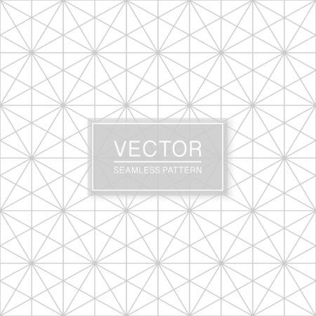 Creative seamless ornamental pattern - delicate grid design. Geometric oriental background.