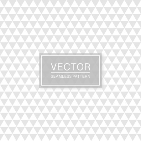 Creative seamless textile pattern - repeatable geometric design. White and grey fabric texture. Abstract delicate background