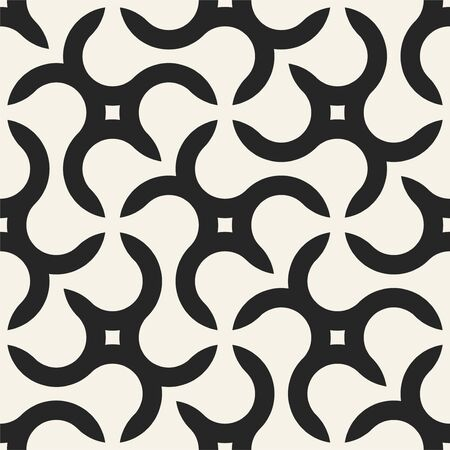 Seamless geometric pattern with creative shapes. Vector endless background. Modern repetitive design Ilustrace